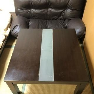 二人折り畳み椅子、コタツの画像