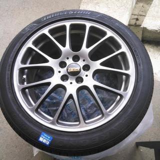 【値下げ】レクサス・BMW用PCD120 BBS17インチアルミ・...