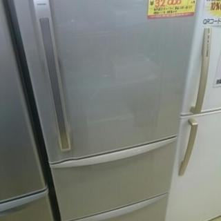 3ドア冷蔵庫340リットル 東芝 GR-34ZX (高く買取るゾウ...
