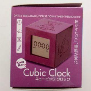 Cube時計/温度計