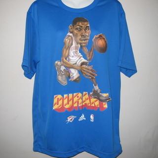 Tシャツ 青 バスケットボール