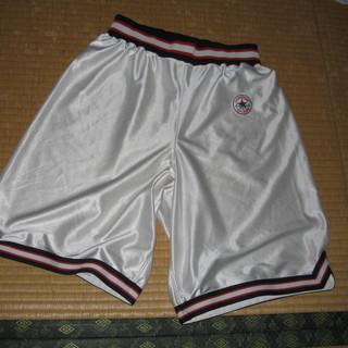 バスケットボール ズボン 白