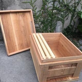 【養蜂】ミツバチ巣箱【新品】