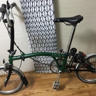 ブロンプトン ミニベロ 折りたたみ自転車