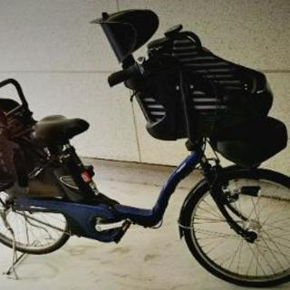 Panasonic 3人乗り電動自転車(充電器付き)
