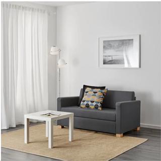 【値下げしました】IKEAソファベッドSOLSTA_セミダブルサ...