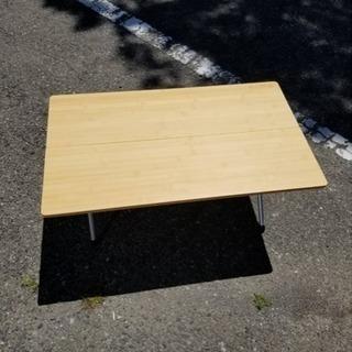 スノーピーク ワンアクションローテーブル バーベキュー キャンプ - 家具