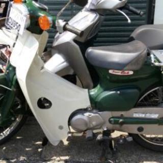 中古スーパーカブ50スタンダード緑