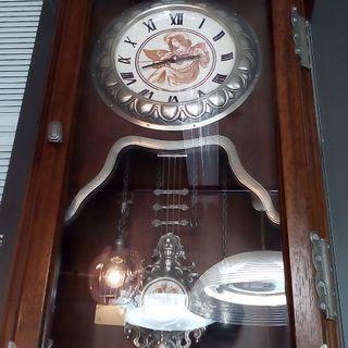 【取引中】大きなアンティーク柱時計