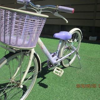 ブリヂストン 女の子 子供用 エコパル自転車22インチ