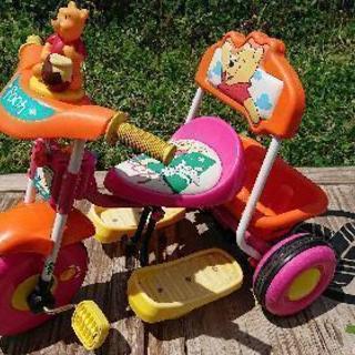 くまのプーさん 三輪車 プラスワン ディズニー