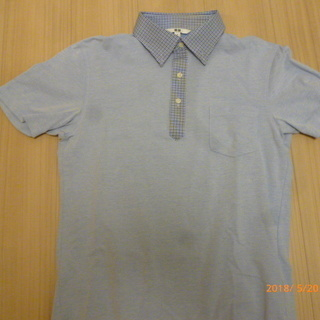 UNIQLO ボタンダウン ポロシャツ Mサイズ(中古)