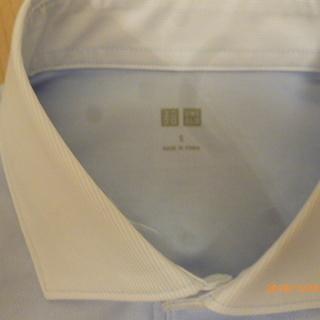【未使用】 UNIQLO ワイドカラー クレリックポロシャツ Sサイズ