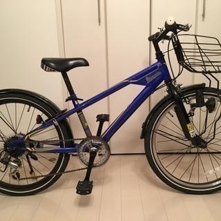 美品 ジュニア自転車 vespa ベスパ スポーツタイプ 22インチ