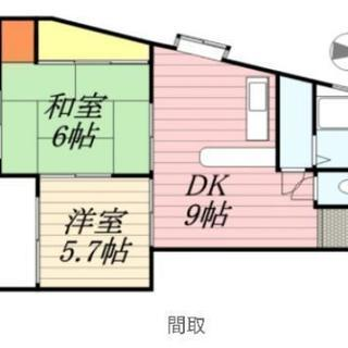 2DK 56.00㎡ ペット可 空室1室のみ - 羽島市