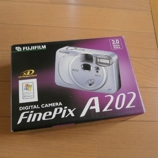 Finepix A202 デジタルカメラ 平成14年頃 ※ご成約...