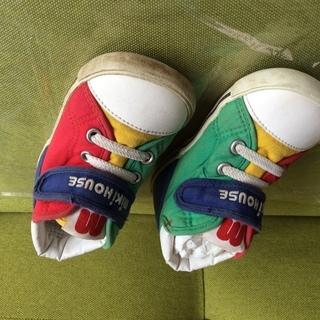 子ども靴 14 ☆ ミキハウス