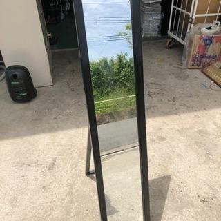木製スタンド鏡
