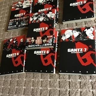 値下げ!GANTZ ガンツ 1〜7巻