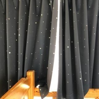 ニトリ星の遮光カーテン