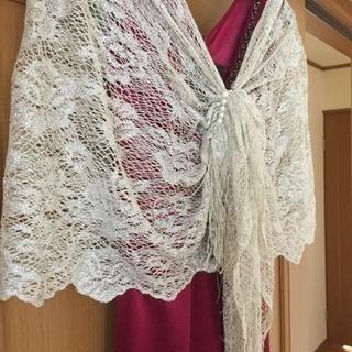 パーティードレス M ショール 美品 - 服/ファッション
