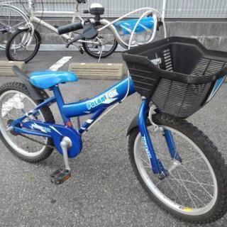 中古自転車158(防犯登録600円無料)子供自転車 18インチ 地...