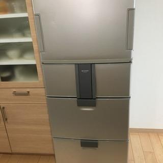 【先着】2007年製 412L(シャープ冷蔵庫SJ-P411D)