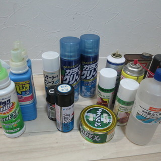 家庭用 ガラスクリーナー 洗剤などおまとめセット
