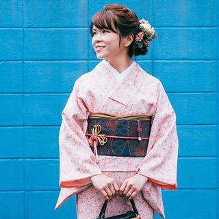 着物・浴衣で東京散歩。ご自身で着付...