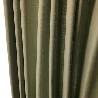 ケユカの黄緑のカーテンセット
