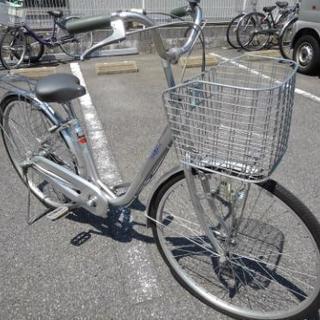 中古自転車160(防犯登録600円無料) タウンサイクル 26イン...