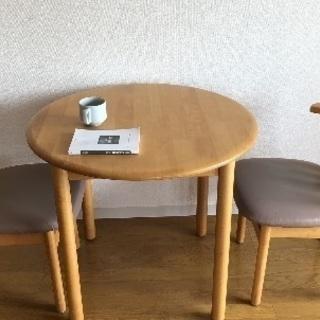 椅子付きテーブル 4000円