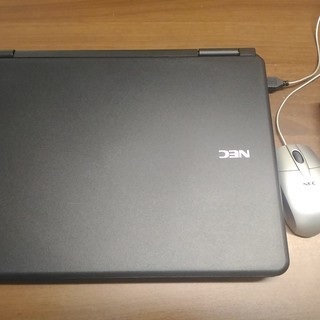 中古パソコンNEC黒15インチ★Windows10pro − 和歌山県