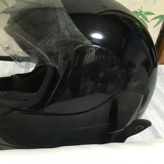バイクヘルメット。