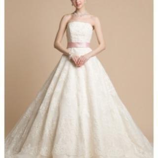 Alohin moe ウエディングドレス(サシェ付)