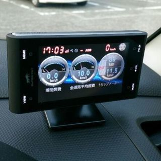 【売却済み】ユピテル レーダー探知機 スーパーキャットGPS内蔵...