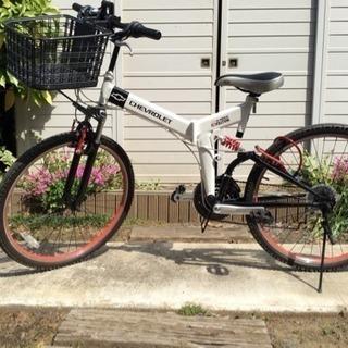 GM製  シボレー 折り畳み自転車