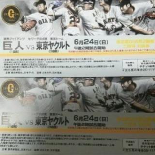 巨人 vs ヤクルト 6月24日 東京ドーム