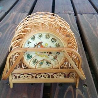 竹製のコースター