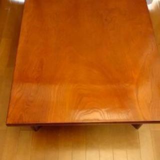 座卓 ローテーブル 折り畳み式