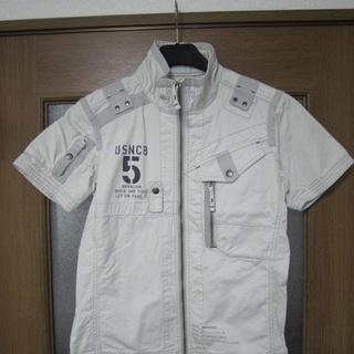 アビレックス 半袖ジップシャツ ジャケット タグ付き新品 AVIREX
