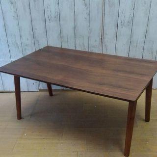 訳ありブラウンウッド折り畳みテーブル3