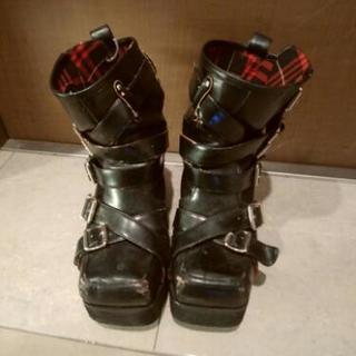 KERAショップ 黒ブーツ 22.5cm