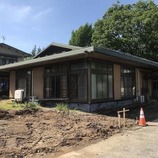 和風平屋建築住宅と、178坪の敷地