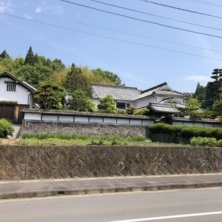 日田の大分県指定近代和室建築の古民家です。