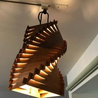 おしゃれな木製天井照明