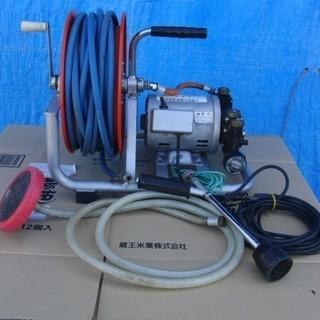 電動噴霧器 ホームスプレーHMP-37SM 動作確認 ホースの長...