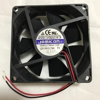 冷却ファン 12V 0.15A 2線