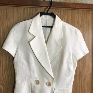 Christian Dior 白ジャケット 半袖