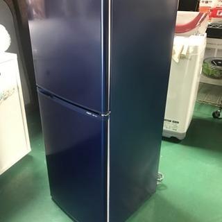 アクア AQR-141C 2ドア冷蔵庫 2013年製 紺色 全定...